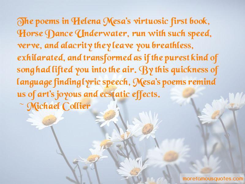 Michael Collier Quotes