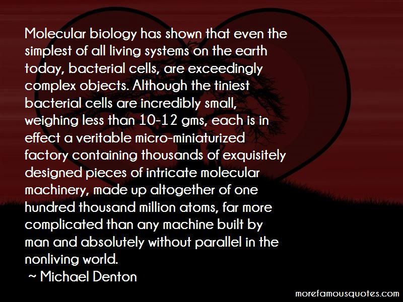 Michael Denton Quotes Pictures 3