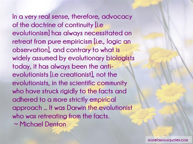 Michael Denton Quotes