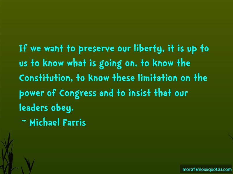 Michael Farris Quotes