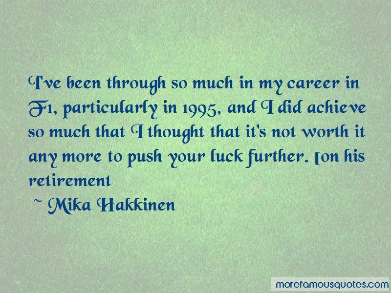 Mika Hakkinen Quotes Pictures 2