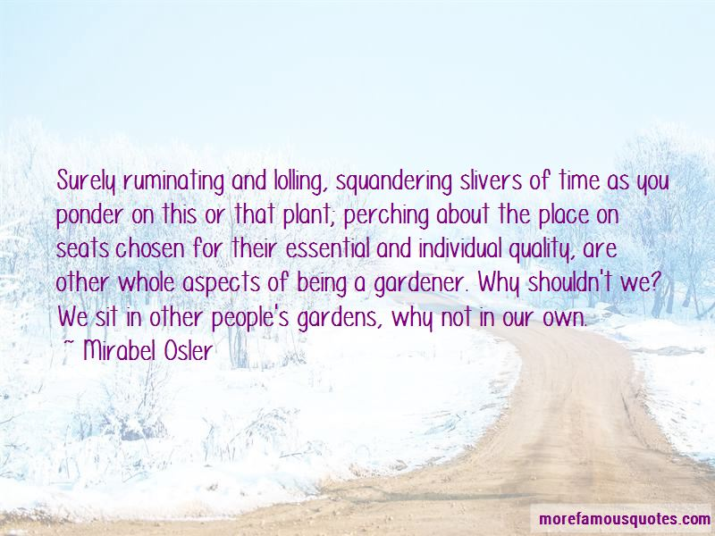 Mirabel Osler Quotes Pictures 3
