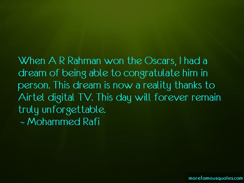 Mohammed Rafi Quotes