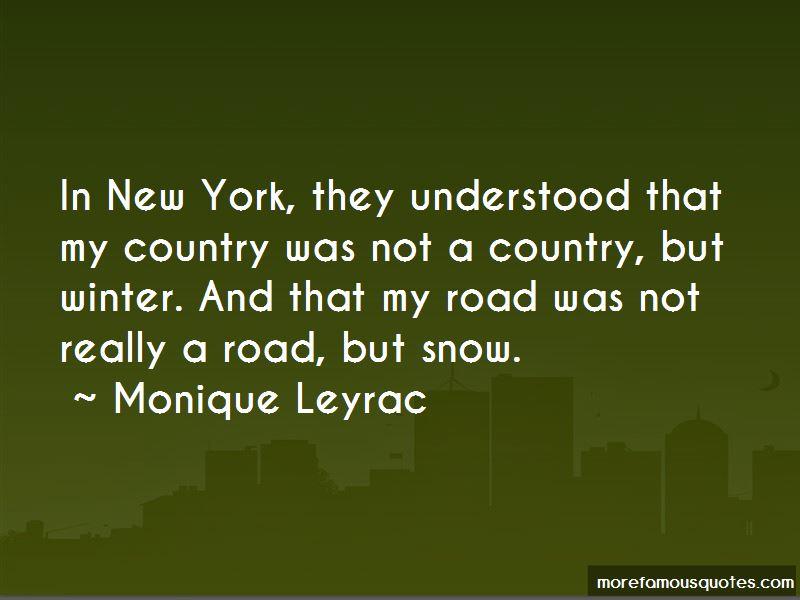 Monique Leyrac Quotes