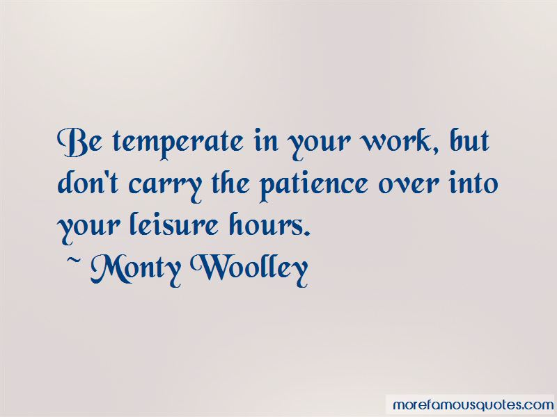 Monty Woolley Quotes