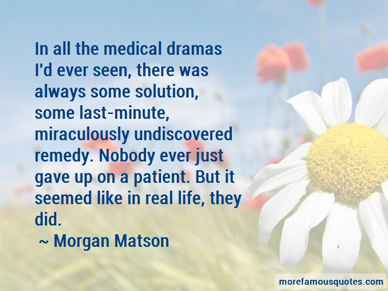 Morgan Matson Quotes