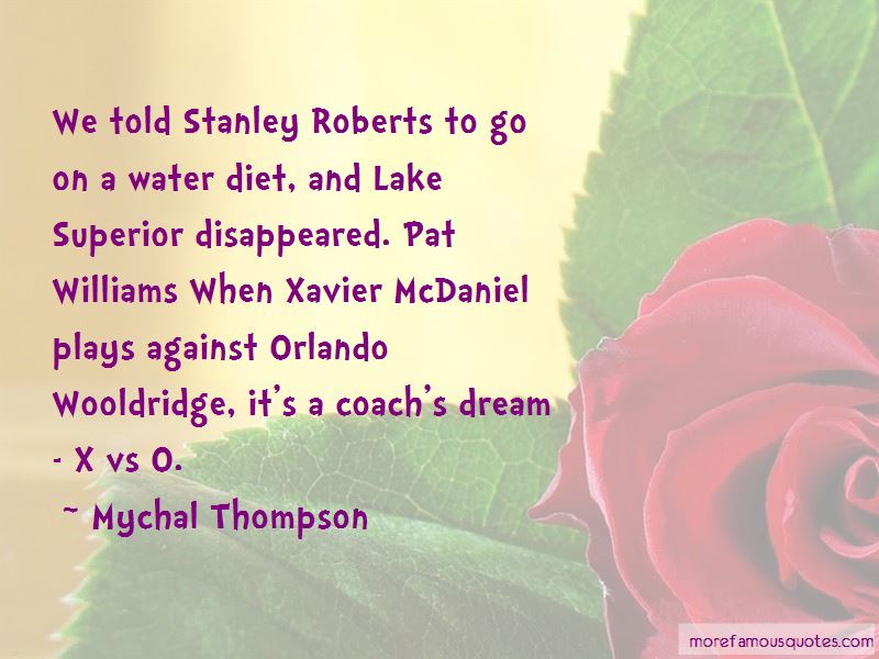 Mychal Thompson Quotes Pictures 2