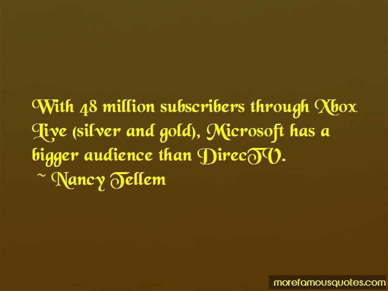 Nancy Tellem Quotes Pictures 2