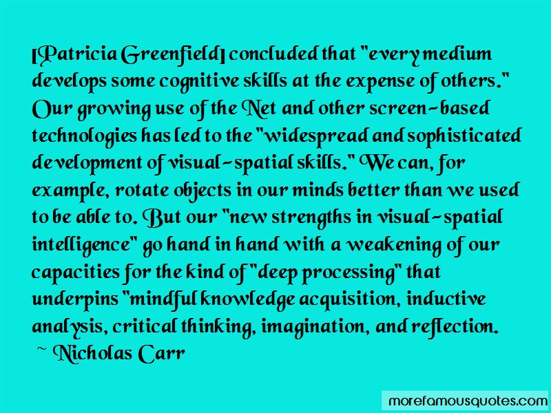 Nicholas Carr Quotes