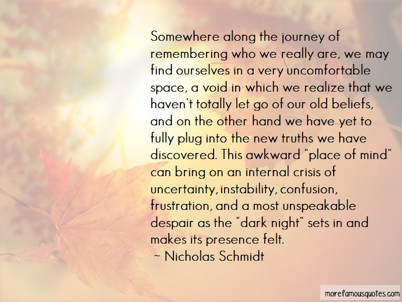 Nicholas Schmidt Quotes