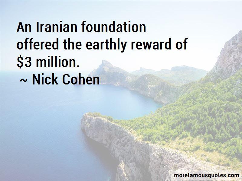 Nick Cohen Quotes