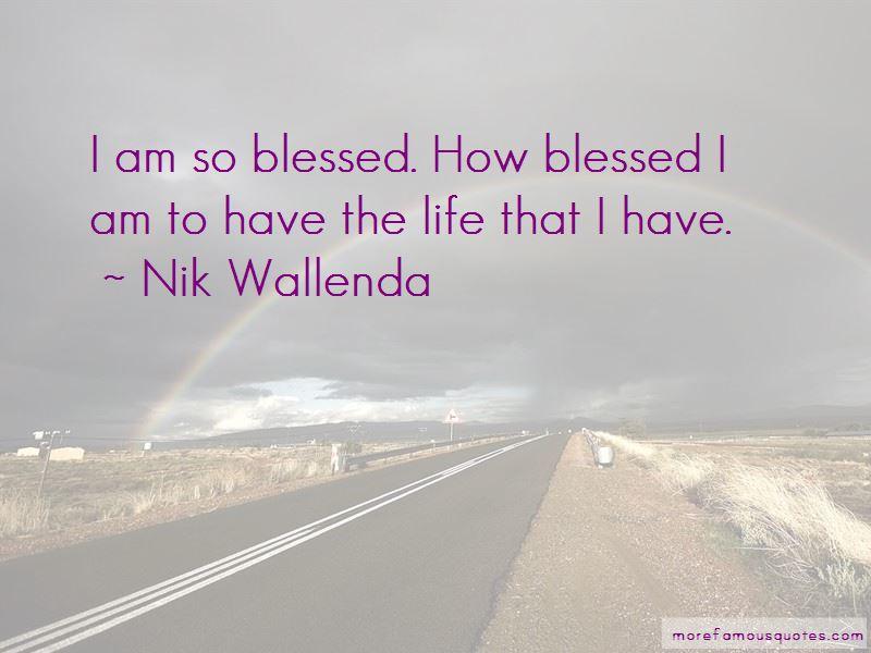 Nik Wallenda Quotes