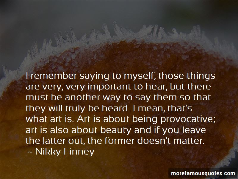 Nikky Finney Quotes
