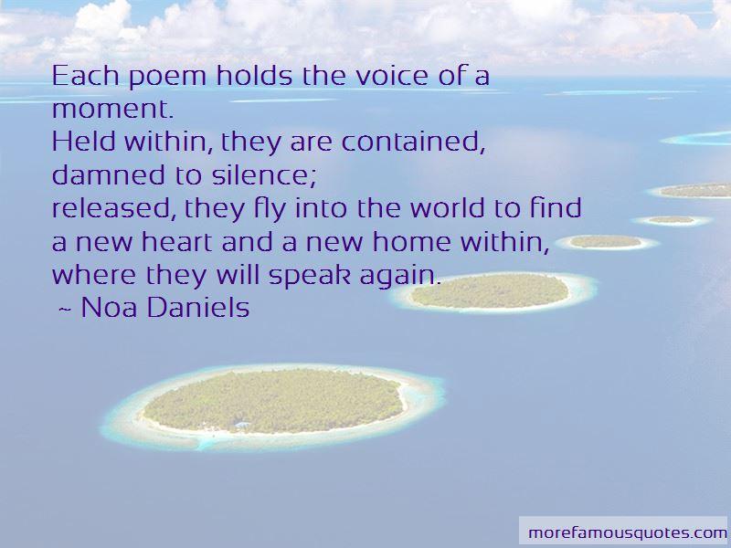 Noa Daniels Quotes