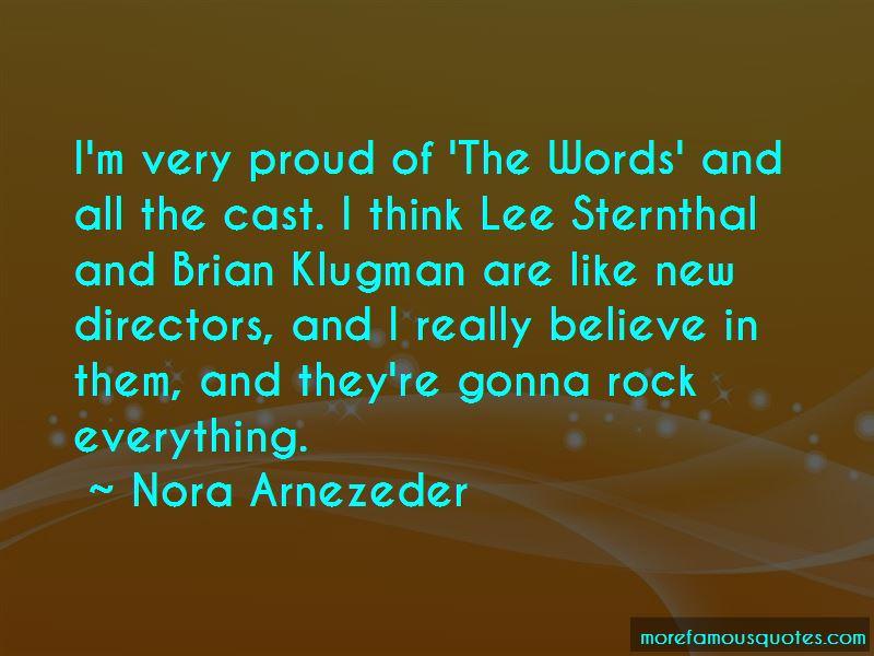 Nora Arnezeder Quotes
