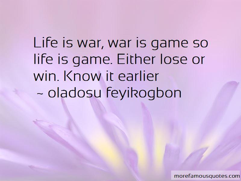 Oladosu Feyikogbon Quotes