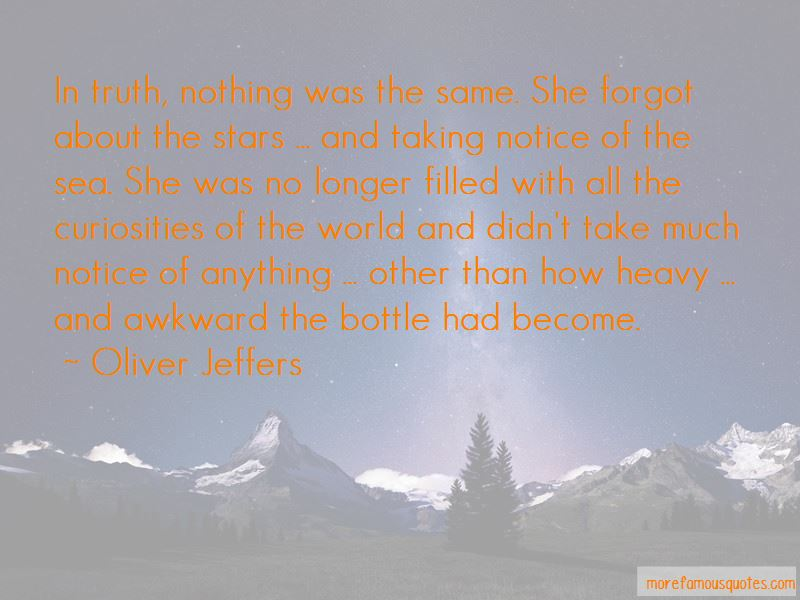 Oliver Jeffers Quotes