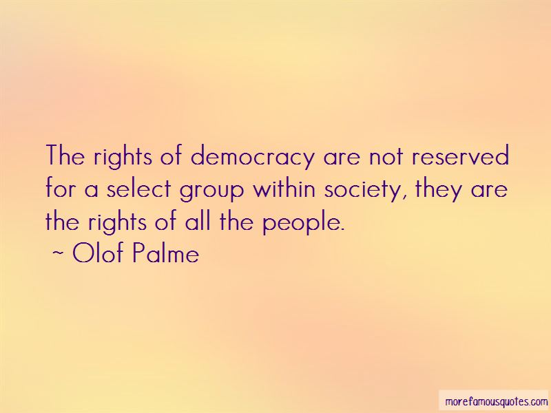 Olof Palme Quotes Pictures 4