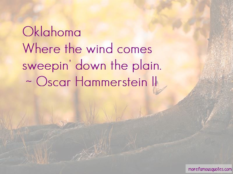 Oscar Hammerstein II Quotes Pictures 4