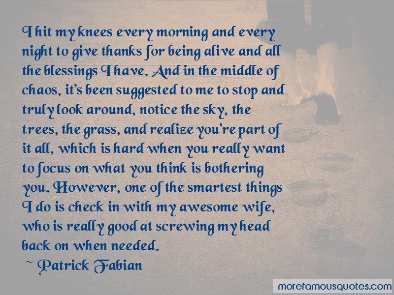 Patrick Fabian Quotes