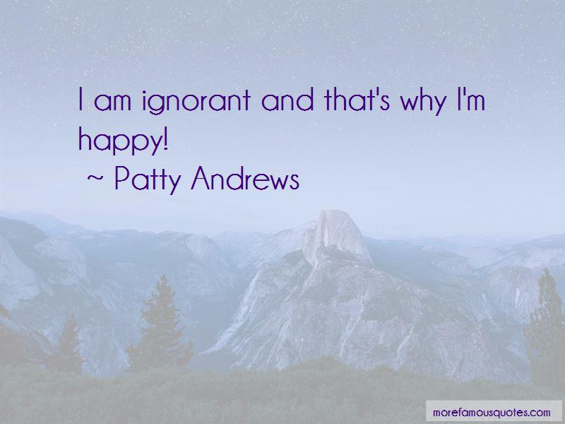 Patty Andrews Quotes