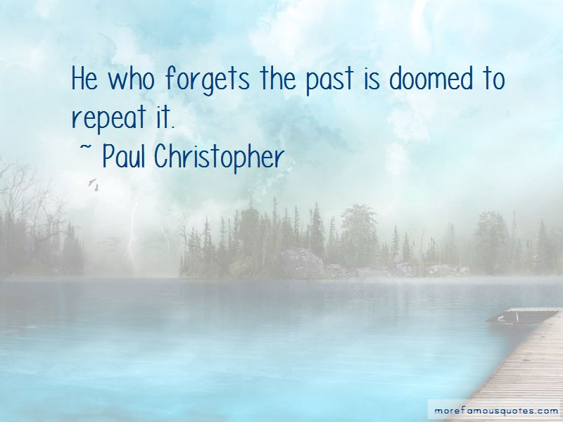 Paul Christopher Quotes