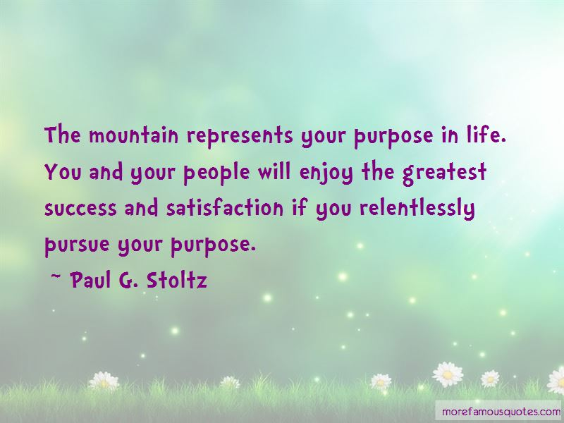 Paul G. Stoltz Quotes Pictures 2