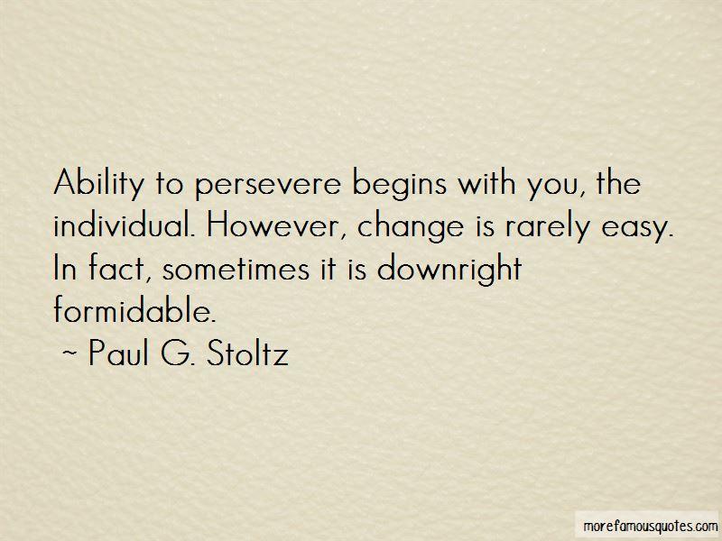 Paul G. Stoltz Quotes Pictures 3