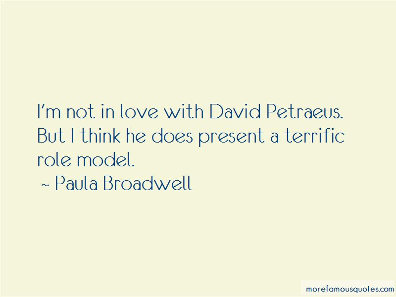 Paula Broadwell Quotes Pictures 3