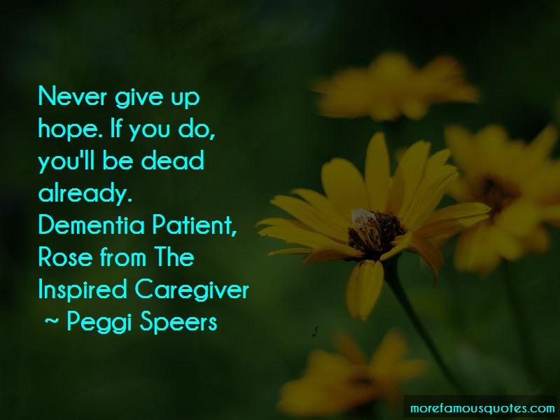 Peggi Speers Quotes