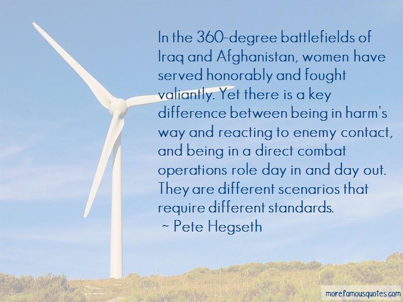 Pete Hegseth Quotes