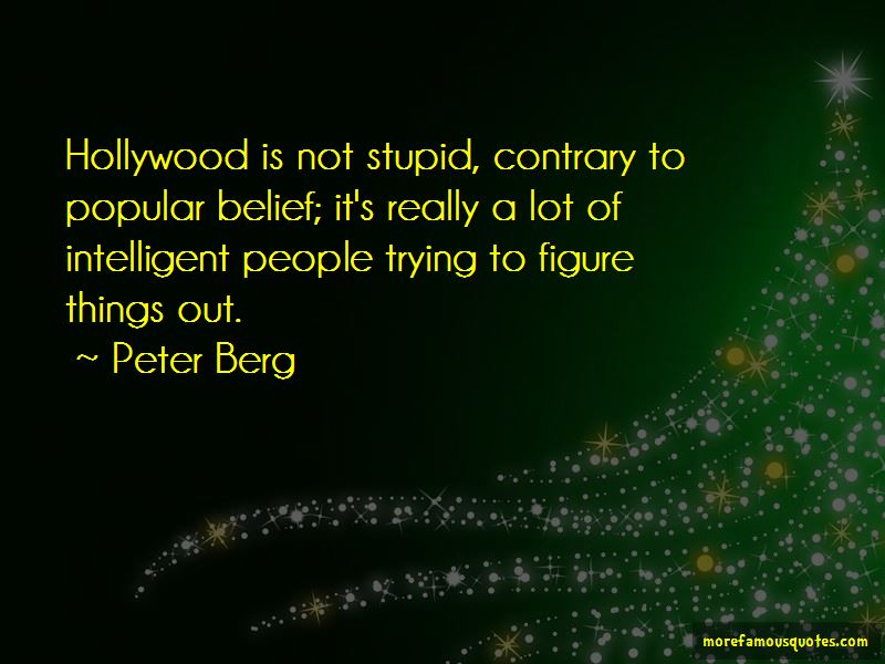 Peter Berg Quotes Pictures 2
