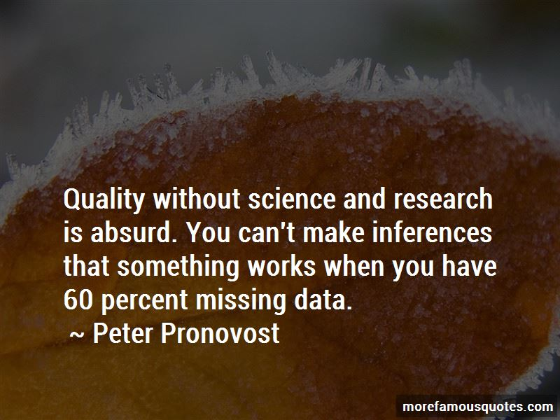 Peter Pronovost Quotes Pictures 2