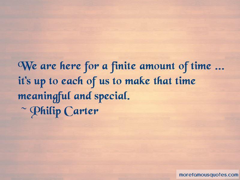 Philip Carter Quotes