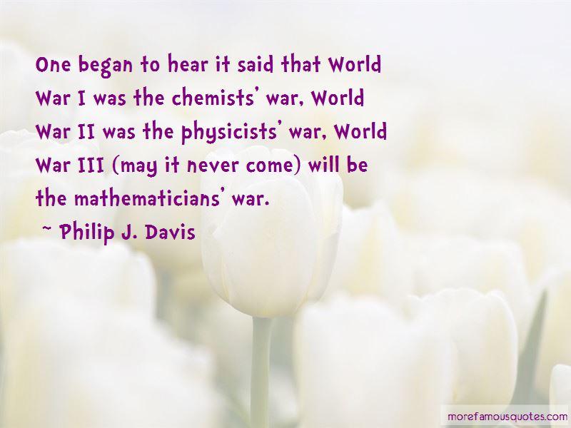 Philip J. Davis Quotes Pictures 3