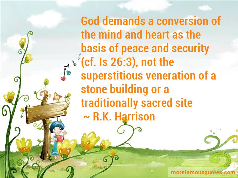 R.K. Harrison Quotes Pictures 2
