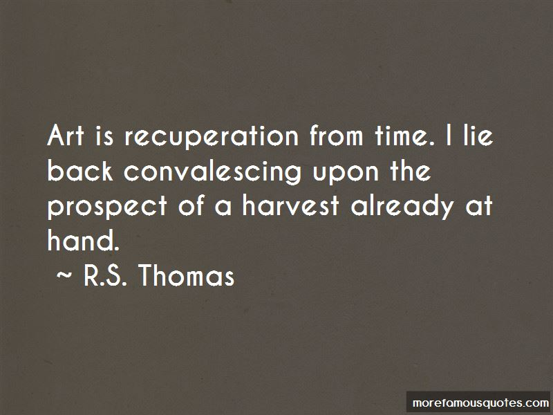 R.S. Thomas Quotes Pictures 4