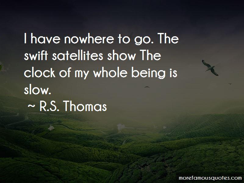 R.S. Thomas Quotes
