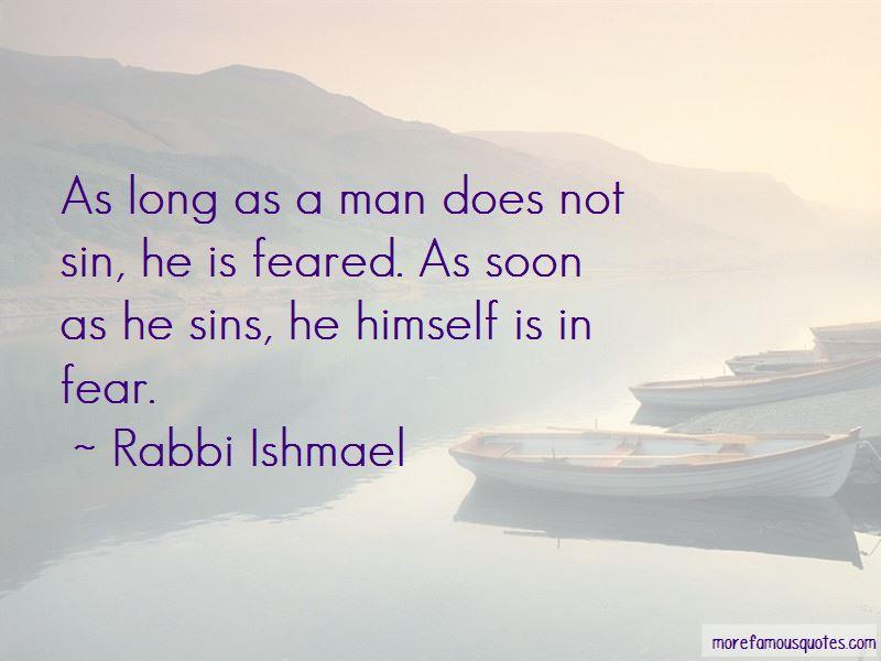 Rabbi Ishmael Quotes