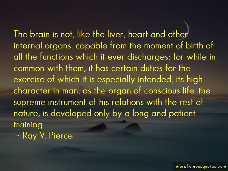 Ray V. Pierce Quotes