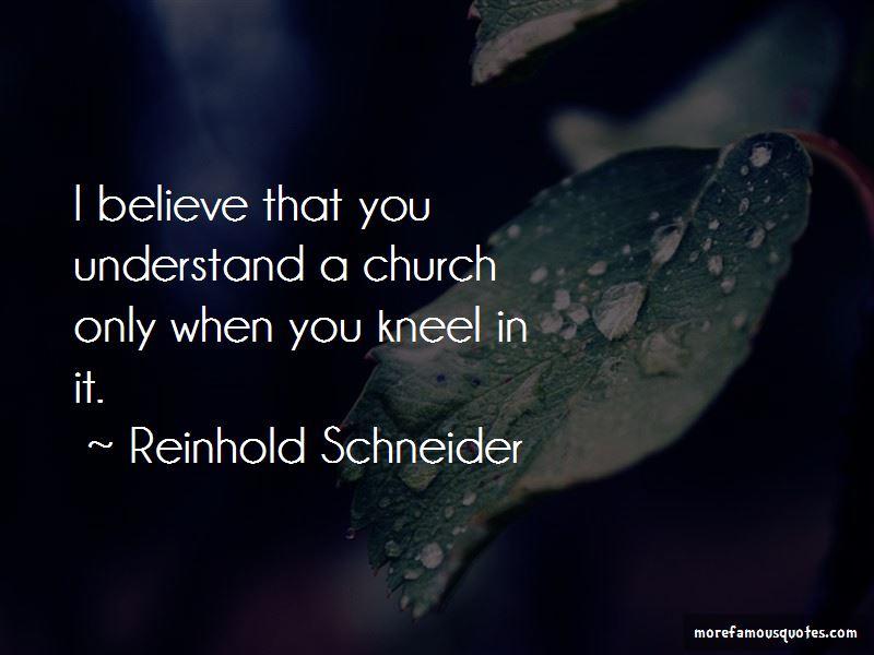 Reinhold Schneider Quotes Pictures 2