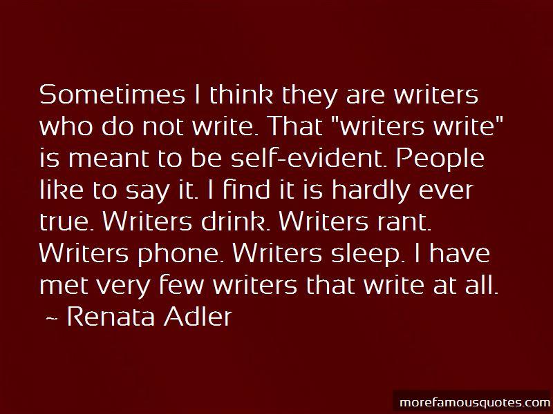 Renata Adler Quotes Pictures 3