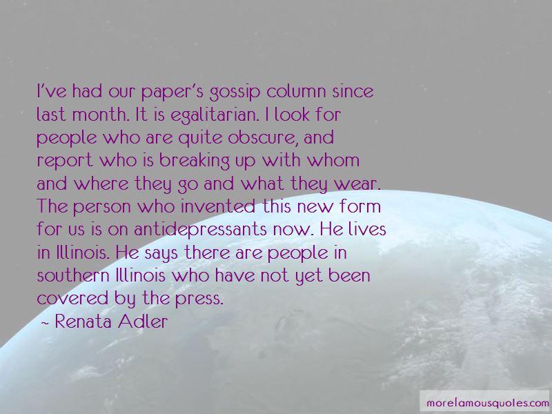 Renata Adler Quotes