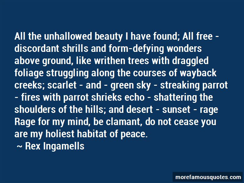 Rex Ingamells Quotes