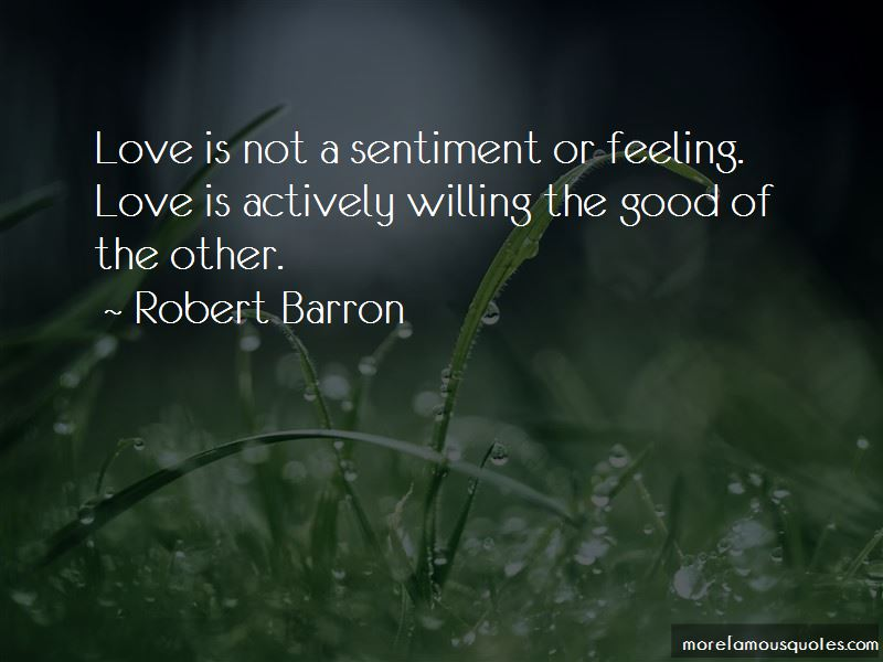 Robert Barron Quotes Pictures 2