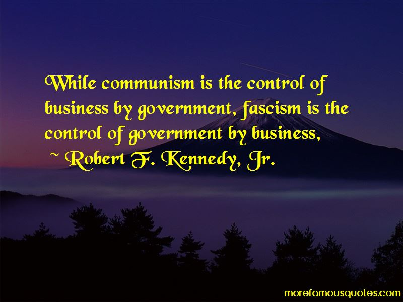 Robert F. Kennedy, Jr. Quotes