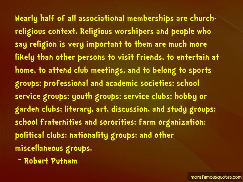 Robert Putnam Quotes Pictures 3