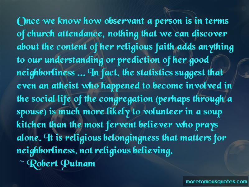 Robert Putnam Quotes
