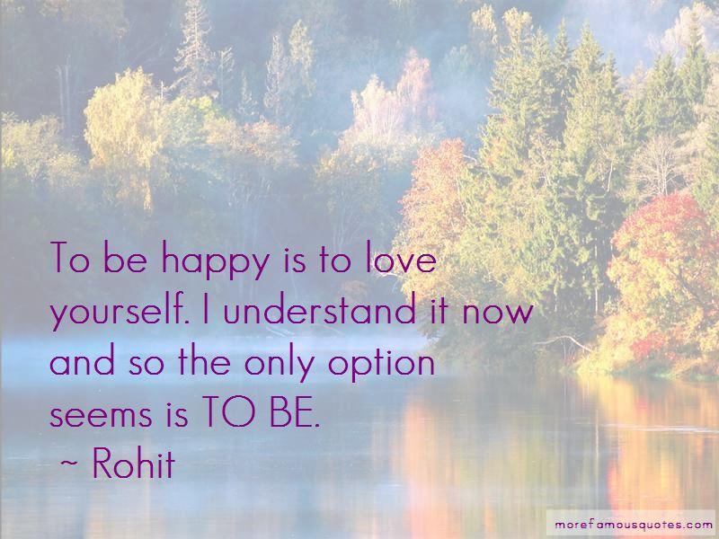 Rohit Quotes