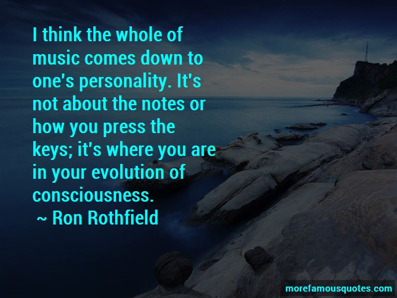 Ron Rothfield Quotes Pictures 2